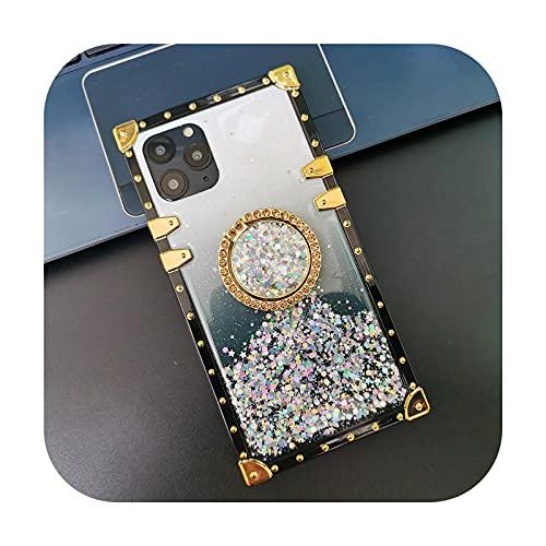 Carcasa para Samsung A20S, diseño de estrella de colores degradado de moda para Samsung Galaxy A52, A20, A50, A70, A51, A71, A31, A10, A32, A42, A72, A12, color dorado