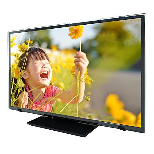 液晶テレビ保護パネル クリアタイプ 固定ベルト付 50インチ 50型 対応 テレビガード T50-B