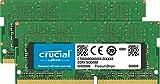 Crucial CT2K16G4S266M - Kit de Memoria para Mac de 32GB (16GB x2) (DDR4, 2666 MT/s, PC4-21300, CL19, Dual Rank x8, SODIMM, 260-Pines)