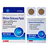 20 Count - Motion Sickness Nausea Relief Patch, Natural Herbal Cruisefor Car/Sea/Air Travel Sickness
