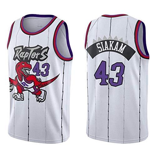 LHYAN Jersey Baloncesto (Pascal Siakam-43) Unisex Secado rápido de los Hombres de Baloncesto Jersey for Deportes al Aire Libre y Regalos for los niños de la Camiseta (Color : A, Size : XXL)