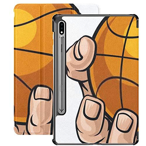 Estuche para Galaxy Tab S7 Estuche Delgado y liviano con Soporte para Tableta Samsung Galaxy Tab S7 de 11 Pulgadas Sm-t870 Sm-t875 Sm-t878 2020 Lanzamiento, Mano Fuerte para Deportes de Pelota de Bal