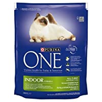 Purina ONE Adult Cat Indoor Turkey 800g (PACK OF 6) 800g (x6) Purina One Quantity: 6