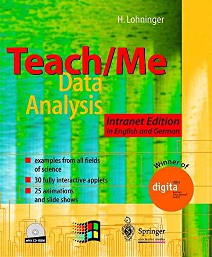 Teach/Me - Data Analysis: Intranet Edition in English and German