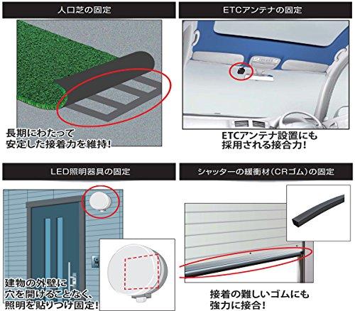 『3M 超強力両面テープ VHB 接合維新 構造用接合テープ BR-12 12mm×1.5m』の4枚目の画像