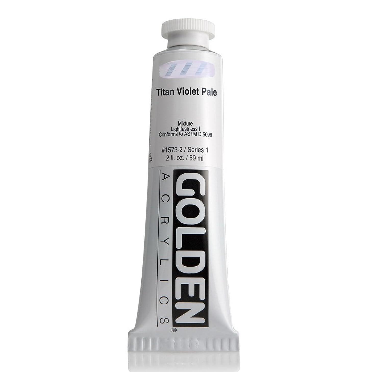 Golden Heavy Body Acrylic, 2 Ounce Tube, Titan Violet Pale (1573-2)