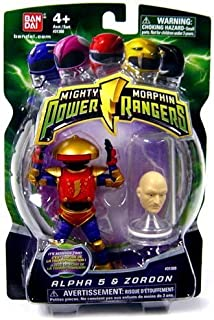 Power Rangers Mighty Morphin Alpha 5 and Zordon