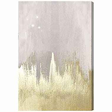 Oliver Gal 'Offwhite Starry Night' Canvas Art, 16 x24