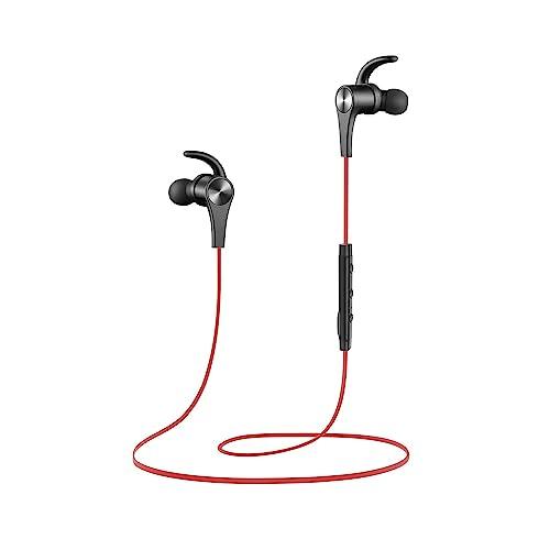 Auriculares magnético SoundPEATS Auriculares Bluetooth 4.1 Cascos inálambrico Deportivos, tecnología de Ruido de Cancelación CVC