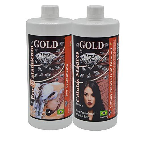 Gold DIAMOND - CELULAS MADRES - KIT ALISADO BRASILEÑO - Producto especial...