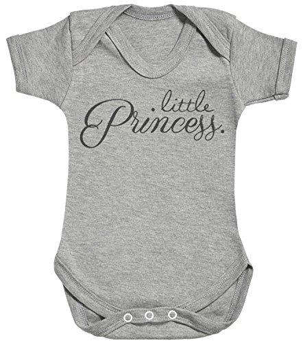 Baby Buddha Little Princess. Body bébé - Gilet bébé - Body bébé Ensemble-Cadeau - Naissance Gris