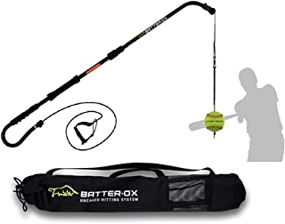 Batter-Ox Baseball Swing Trainer, Batting Average Improvement, Portable Indoor or Outdoor