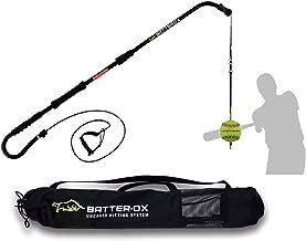 Batter-Ox Baseball Swing Trainer, Batting Average Improvement, Portable Indoor or Outdoor