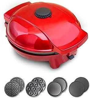 Zhicaikeji Machines à Cupcakes Cuisine Gâteau Machine Multifonctions Egg Roll Machine Machine Waffle Quatre en Un Petit Po...