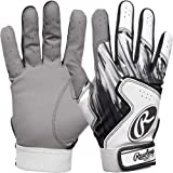 Rawlings Shattered Glass Bat Gloves Adult X-Large White/Gray