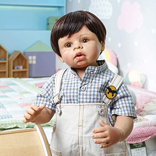 Modelo de muñeca bebé Reborn de 70 cm, silicona de cuerpo