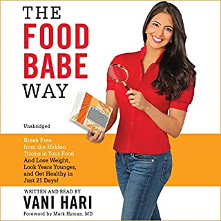 The Food Babe Way audiobook cover art