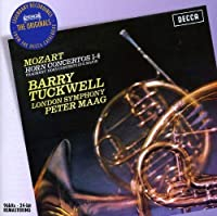 Mozart: Horn Ctos Nos 1 - 4 by TUCKWELL / LONDON SYM ORCH / MAAG (2011-01-03)