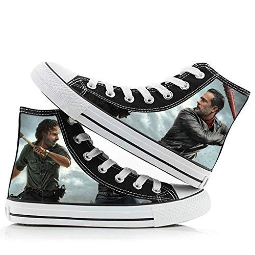 YUANY Kinder und Erwachsene Daryl Dixon Rick Grimes Schuhe Turnschuhe Cosplay Schuhe,F-42EU