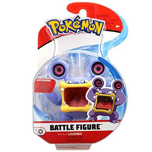 Lively Moments Pokemon Battle Pack Krakeelo Spielfiguren / Sammelfiguren Spielzeug / Erweiterung