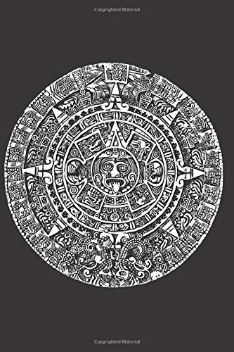 Aztec Calendar: Blank Lined Notebook, Journal or Diary