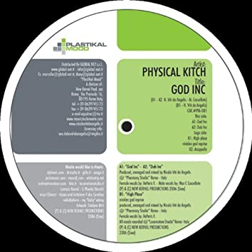 Physical Kitch: God Inc - EP