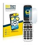 BROTECT Schutzfolie kompatibel mit Doro PhoneEasy 612 (2 Stück) klare Bildschirmschutz-Folie