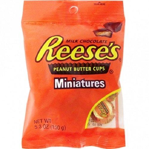 Reese's Erdnussbutter Cups Miniatures 5.3 oz, 2er Pack (2 x 150g )