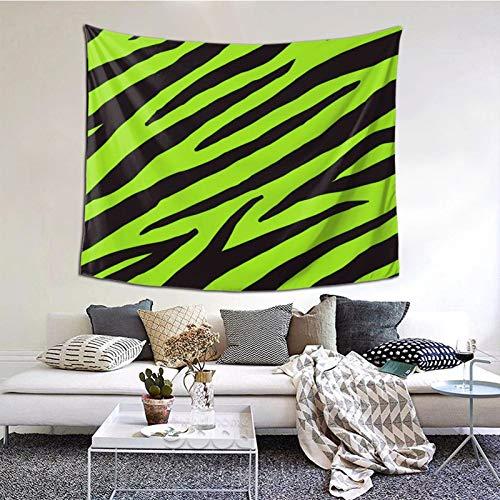 ZVEZVI Animal patrón Cebra Decorativo Animal Tapiz Arte de la Pared para la Sala de Estar Dormitorio decoración del Dormitorio 60ʺ × 51ʺ