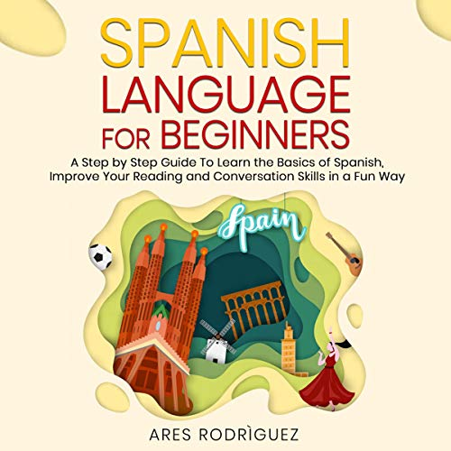 Couverture de Spanish Language for Beginners