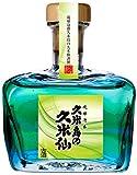 久米仙 びーどろガラス 緑 泡盛 瓶 25度 570ml