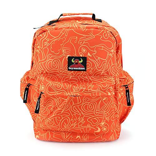 トイマシーン(TOY MACHINE) リュック デイパック ストリートシリーズ オレンジ TM-B016-ORG