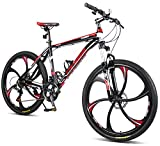 Merax FT323 Mountain Bike 24 Speed Front Suspension Aluminum Frame MTB Bicycle - 26 inch
