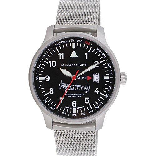 Messerschmitt orologio speciale Model velocità record ME-209M Ronda Swiss...