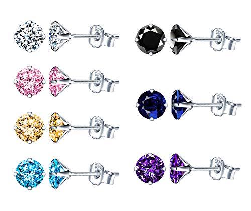 Garra Set Cristal pendientes en varios colores con presentación Caja De Regalo