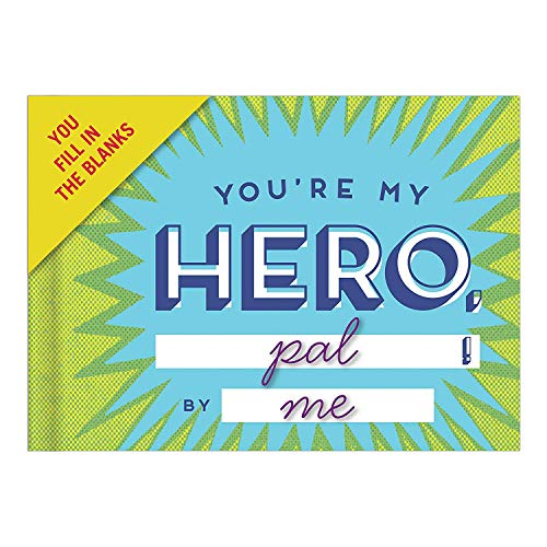 Knock Knock Why You're My Hero Fill in the Love Book Fill-in-the-Blank Gift Journal, 4.5 x 3.25-inches Photo #7