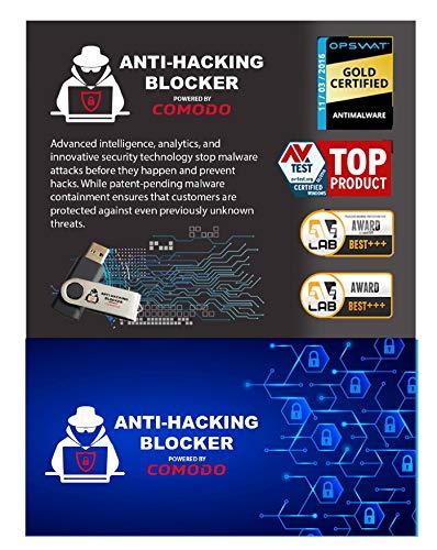 COMODO Anti-Hacking Blocker Software – Premium Internet Security Anti-Virus Software und Firewall-Schutz – schützt bis zu 3 PCs – 1 Jahr Prepaid-Abo