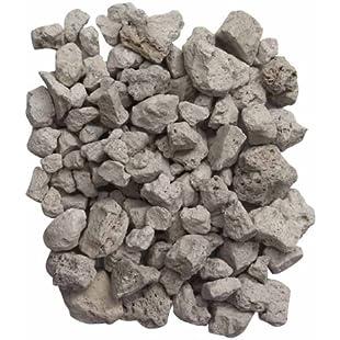 Gardeco PUMICE-4L 4L Lava Stones Bag - White:Amedama
