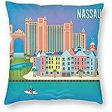 DayToy Style Travel Nassau Bahamas Art Poster 1 Pack