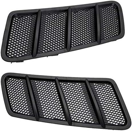 JINQIU Manufacturer regenerated product 2Pcs Car Front Hood Vent Grille Intake Flow excellence Air Fit