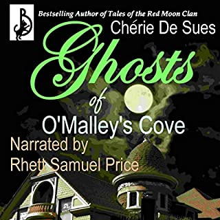Ghosts of O'Malley's Cove audiobook cover art
