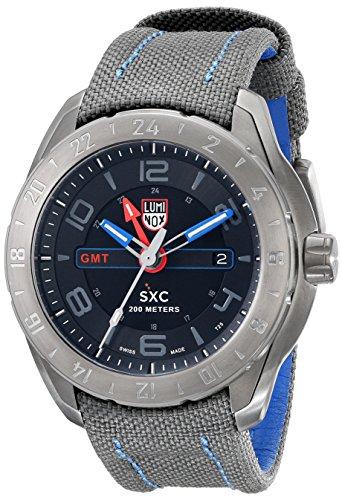 Luminox Herren Analog Quarz Uhr mit Plastik Armband 5121.GN