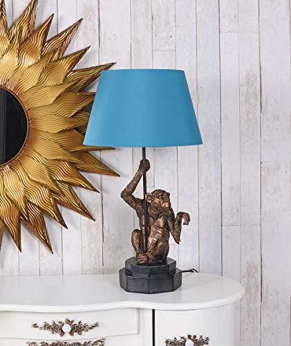 Affenlampe Tischleuchte Jungle Lampe Affe Leuchte Tierfigur Tischlampe Affe Palazzo Exklusiv