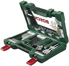 Bosch 2607017309 83 Pieces V-line Titanium Set For Drilling