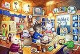 OLB&VNM Puzzles Katzensnacks DIY Kinder Lernspielzeug Holz Intelligenz Puzzles 1000 Stück