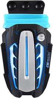 Uonlytech V8 portátil Ventilador de eyector de Aire Enfriador USB refrigerador de Aire disipador del radiador Extractor CPU Enfriador para Notebook (Negro)
