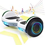 FLYING-ANT Hoverboard w/Bluetooth Speaker Self Balancing Scooter Two LED Light Wheels UL2272 Certified Favourite Outdoor Sports Easy to Begin Ideal Gift for Adult Children
