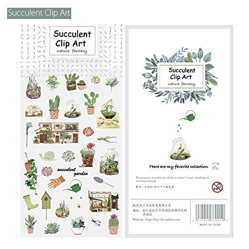 YFB Und Papier Aufkleber DIY Hand Konto Album Tagebuch Dekoration Hand Konto Aufkleber saftigen ClipArt
