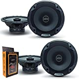 (2) Pairs of Alpine SPE-6000 120W 6.5' 2-Way Type-E Coaxial Speakers w/Silk Tweeters Plus Gravity Mobile Bracket Holder Bundle