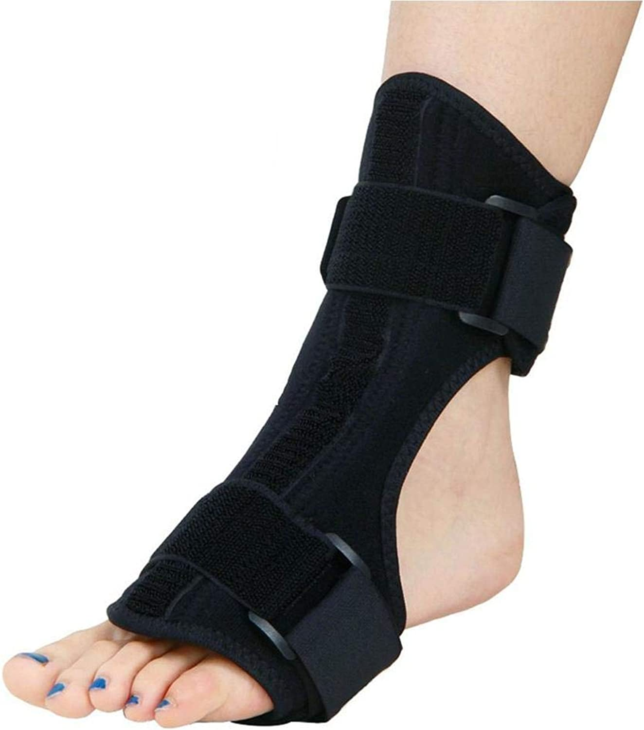 Ankle Brace Foot Support,Ankle Orthosis Wrap Breathable Sleeve Stabilizer Adjustable Rehabilitation for Running, Basketball, Injury Recovery, Sprains,Pain Relief Plantar Fasciitis,Swelling